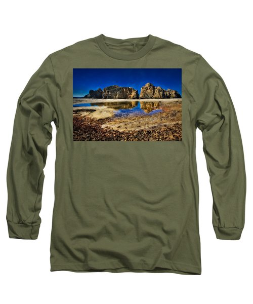 Long Sleeve T-Shirt featuring the photograph Pheiffer Beach #15 - Big Sur, Ca by Jennifer Rondinelli Reilly - Fine Art Photography