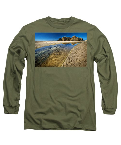 Long Sleeve T-Shirt featuring the photograph Pheiffer Beach- Keyhole Rock #19 - Big Sur, Ca by Jennifer Rondinelli Reilly - Fine Art Photography