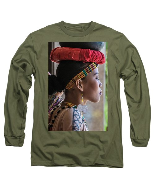 Philippine Dancer Long Sleeve T-Shirt