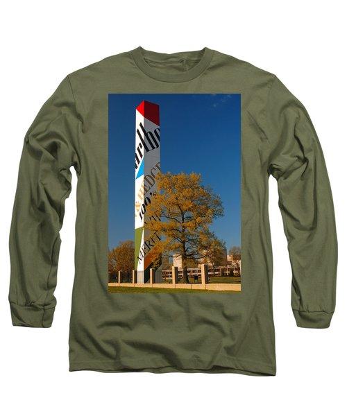 Phillip Morris Long Sleeve T-Shirt by James Kirkikis