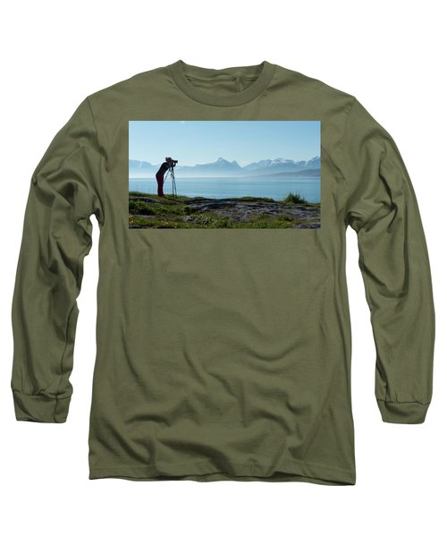 Photograph In Norway Long Sleeve T-Shirt