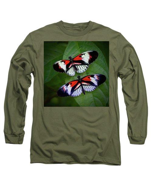 Piano Key Butterfly's Long Sleeve T-Shirt
