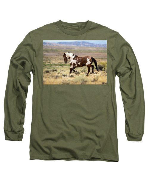 Picasso Strutting His Stuff Long Sleeve T-Shirt
