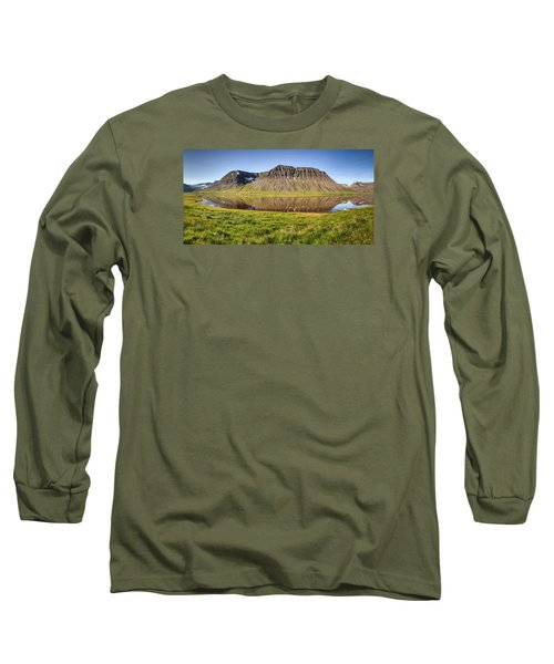 Picnic - Panorama Long Sleeve T-Shirt by Brad Grove