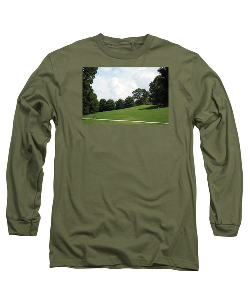 Long Sleeve T-Shirt featuring the photograph Piedmont Park by Jake Hartz