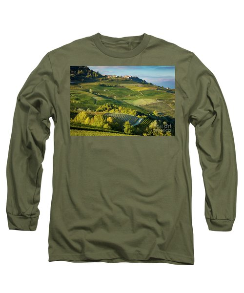 Long Sleeve T-Shirt featuring the photograph Piemonte Countryside by Brian Jannsen