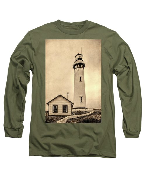 Pigeon Point Light Station Pescadero California Long Sleeve T-Shirt