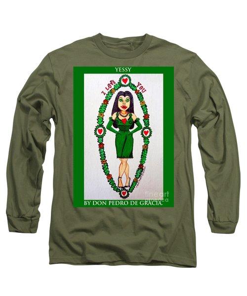 Yessy Long Sleeve T-Shirt by Don Pedro De Gracia