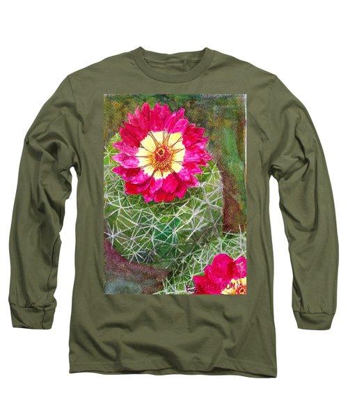 Pincushion Cactus Long Sleeve T-Shirt