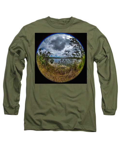 Pine Glades Lake 18 Long Sleeve T-Shirt by Michael Fryd