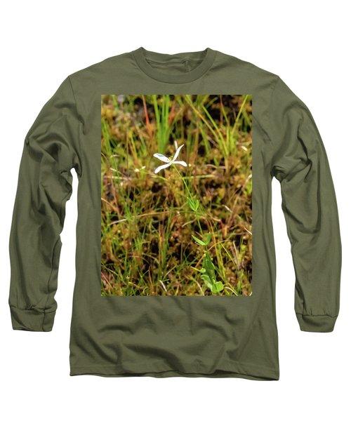 Pine Lands Endangered Plant Long Sleeve T-Shirt