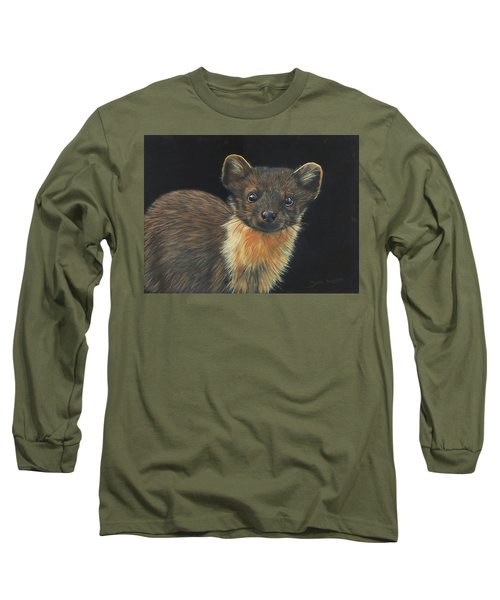 Pine Marten Long Sleeve T-Shirt