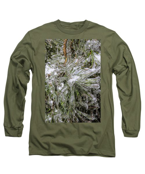 Pinecicles Long Sleeve T-Shirt by Barbara Bowen