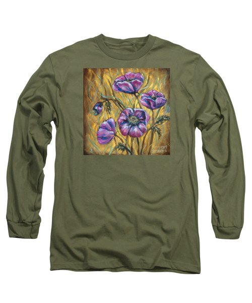 Pink Blooms Long Sleeve T-Shirt