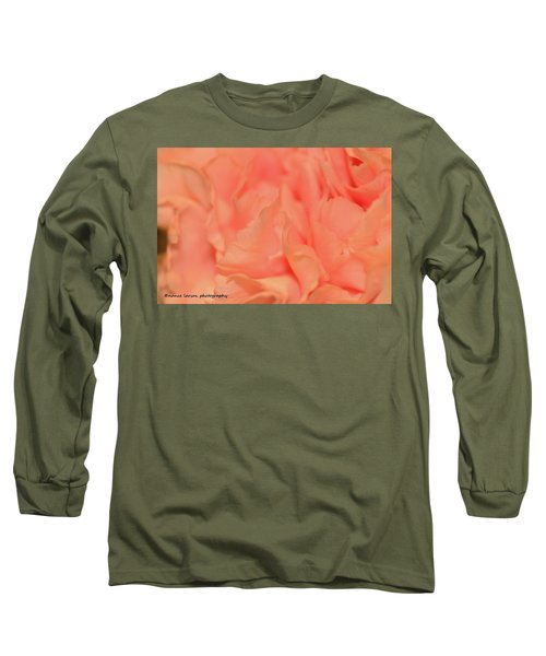 Pink Carnations Long Sleeve T-Shirt