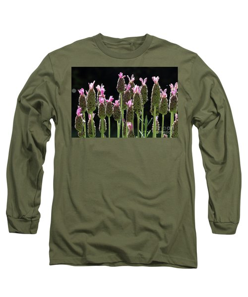 Pink Lavender Long Sleeve T-Shirt
