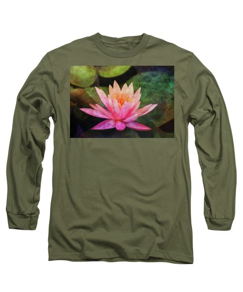 Pink Lotus 4134 Idp_2 Long Sleeve T-Shirt