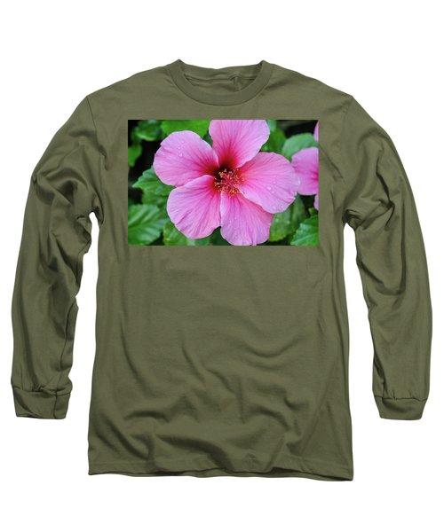Pink Lugonia Long Sleeve T-Shirt