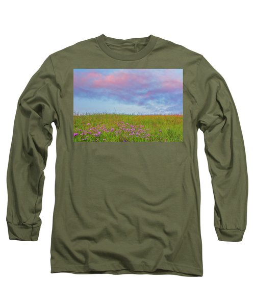 Pink  Over Pink  Long Sleeve T-Shirt by Marc Crumpler