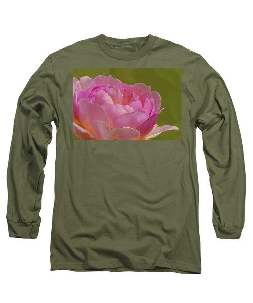 Pink Rose #d3 Long Sleeve T-Shirt