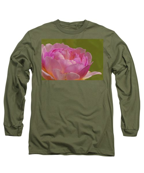 Pink Rose #d3 Long Sleeve T-Shirt