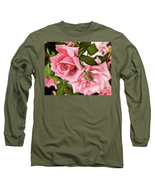 Pink Serenity Long Sleeve T-Shirt