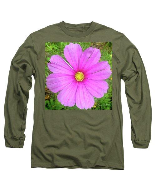 Pink Long Sleeve T-Shirt by Terri Harper