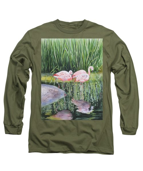 Pink Trio Long Sleeve T-Shirt