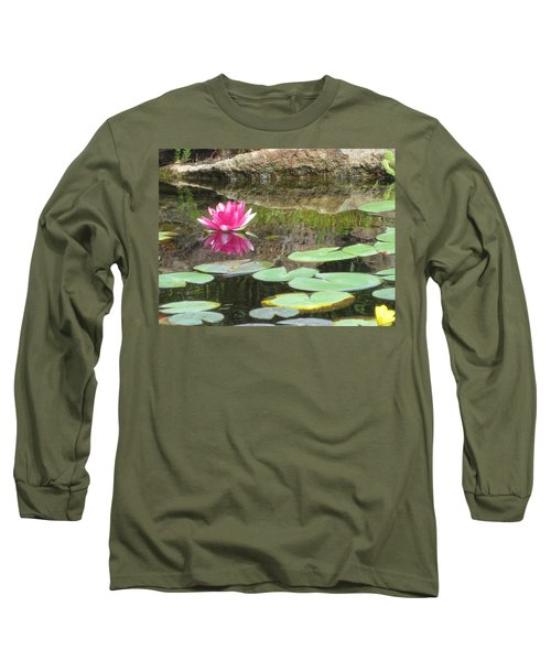 Pink Waterlilly  Long Sleeve T-Shirt