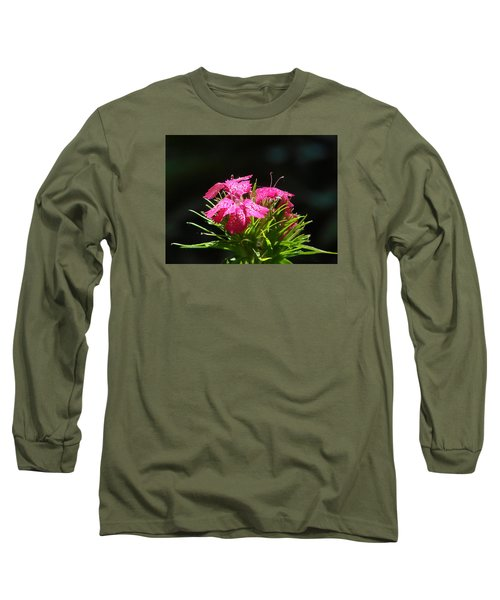 Pink William Long Sleeve T-Shirt