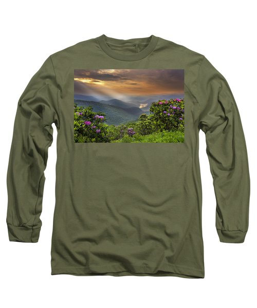Pinnacle Sunset  Long Sleeve T-Shirt