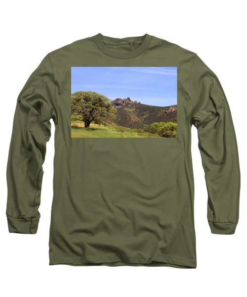 Long Sleeve T-Shirt featuring the photograph Pinnacles Vista by Art Block Collections