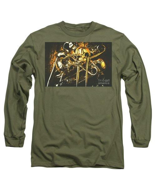 Pins Of Horror Fashion Long Sleeve T-Shirt