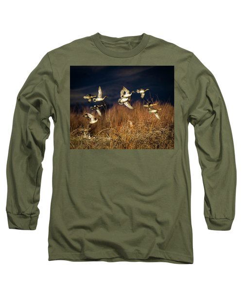 Pintails And Wigeons Long Sleeve T-Shirt