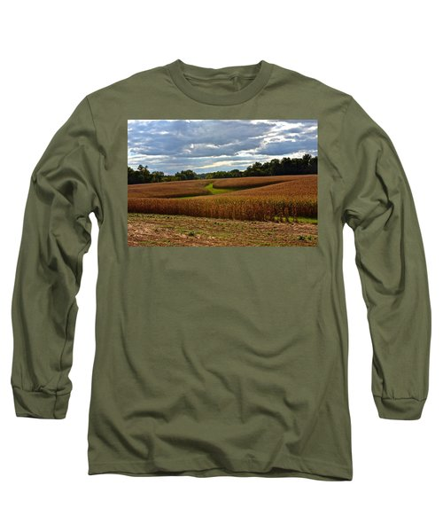 Pinwheel Cornfield Long Sleeve T-Shirt