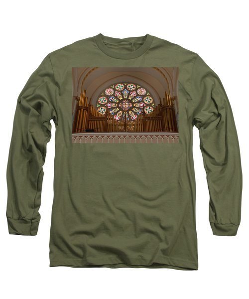 Pipe Organ - Church Long Sleeve T-Shirt