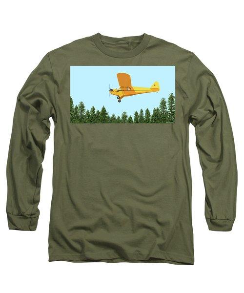 Piper Cub Piper J3 Long Sleeve T-Shirt