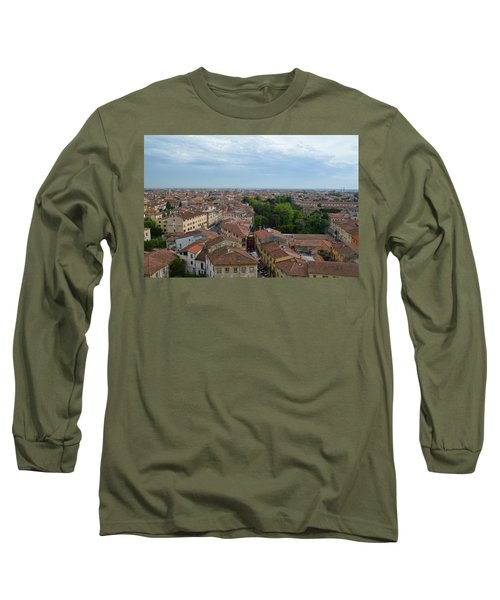 Pisa From Above Long Sleeve T-Shirt