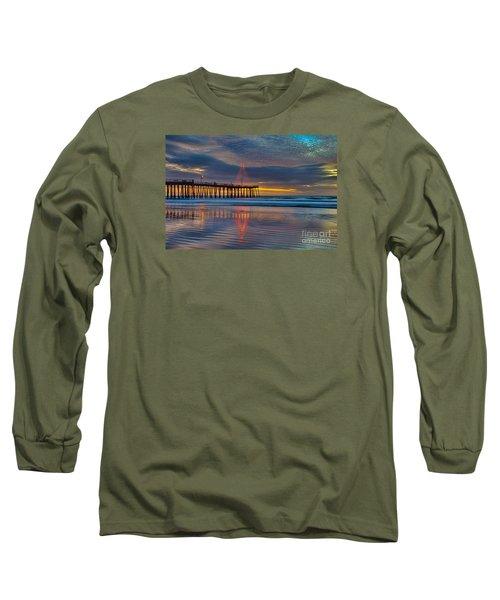 Pismo Beach Christmas Long Sleeve T-Shirt