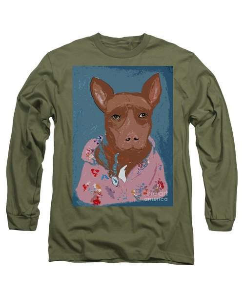 Pitty In Pajamas Long Sleeve T-Shirt