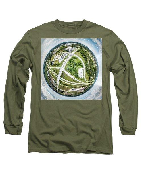 Long Sleeve T-Shirt featuring the photograph Planet Mukwonago by Randy Scherkenbach