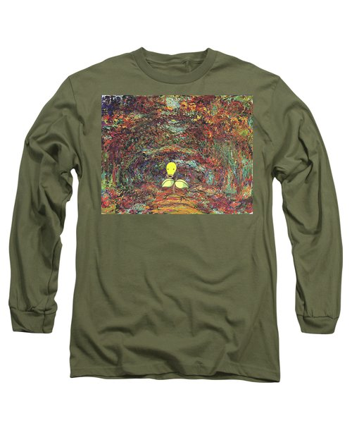 Long Sleeve T-Shirt featuring the digital art Planet Pokemonet  by Greg Sharpe