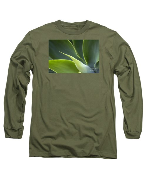 Plant Abstract Long Sleeve T-Shirt
