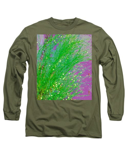 Long Sleeve T-Shirt featuring the photograph Plant Design by Lenore Senior