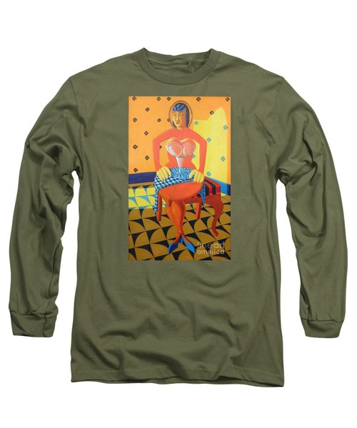 Plausible Arrangements In Anthropomorphic Possibilities Long Sleeve T-Shirt