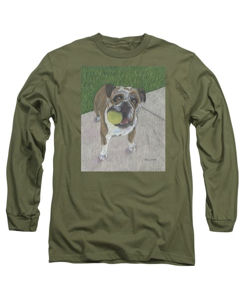 Play With Me Long Sleeve T-Shirt by Arlene Crafton