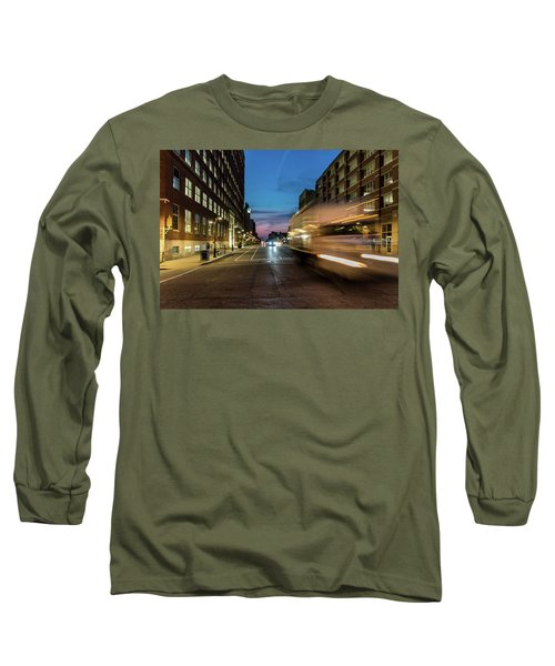Long Sleeve T-Shirt featuring the photograph Playing In Traffic by Randy Scherkenbach
