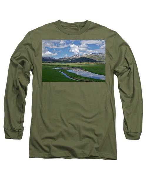 Plentiful Valley Long Sleeve T-Shirt by Matt Helm