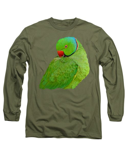 Plucking My Feathers Long Sleeve T-Shirt