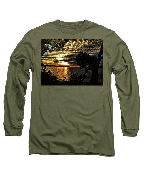 Pocasset Sunset Long Sleeve T-Shirt